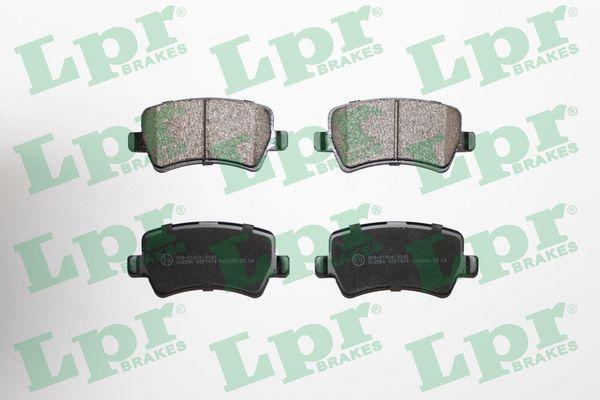 05P1474 LPR Höhe: 48,6mm, Breite: 106,2mm, Dicke/Stärke: 16,8mm Bremsbelagsatz, Scheibenbremse 05P1474 günstig kaufen