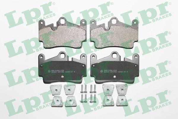 05P1482 LPR mit Schrauben Höhe: 73,2mm, Breite: 112,2mm, Dicke/Stärke: 16,5mm Bremsbelagsatz, Scheibenbremse 05P1482 günstig kaufen