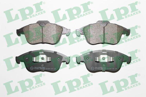 05P1534 LPR Höhe 1: 68,2mm, Höhe 2: 63mm, Breite: 155,2mm, Dicke/Stärke: 18mm Bremsbelagsatz, Scheibenbremse 05P1534 günstig kaufen