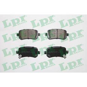 5SP1550 LPR Höhe: 52,7mm, Breite: 116,7mm, Dicke/Stärke: 17mm Bremsbelagsatz, Scheibenbremse 05P1550 günstig kaufen