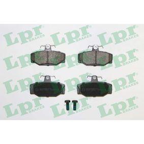 5SP217 LPR mit Schrauben Höhe: 53,5mm, Breite: 90mm, Dicke/Stärke: 13,2mm Bremsbelagsatz, Scheibenbremse 05P217 günstig kaufen