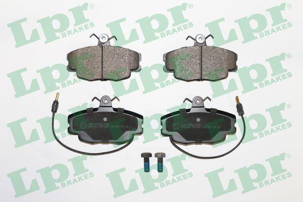 LPR Bremsbelagsatz, Scheibenbremse 05P220