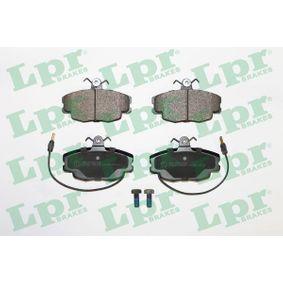 05P220 LPR mit Schrauben Höhe: 63,5mm, Breite: 99,9mm, Dicke/Stärke: 18mm Bremsbelagsatz, Scheibenbremse 05P220 günstig kaufen