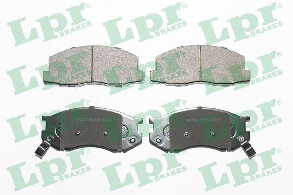 LPR комплект спирачно феродо, дискови спирачки 05P226