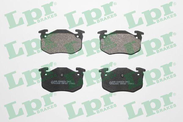 OE Original Bremsbelagsatz 05P307 LPR