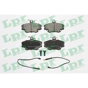 5SP349 LPR mit Schrauben Höhe: 64,8mm, Breite: 99,9mm, Dicke/Stärke: 18mm Bremsbelagsatz, Scheibenbremse 05P349 günstig kaufen