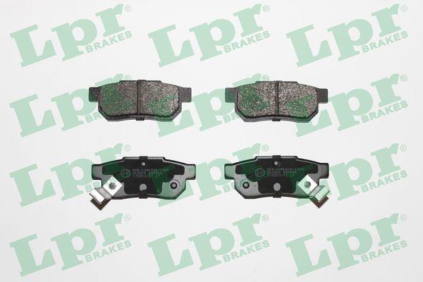 LPR Bremsbelagsatz, Scheibenbremse 05P506