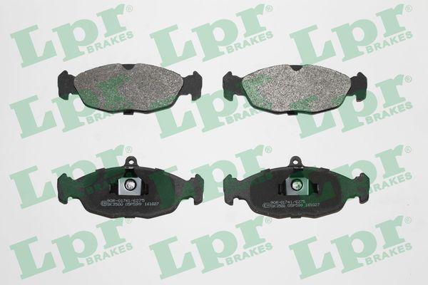 LPR Brake Pad Set, disc brake 05P599