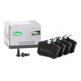 5SP634 LPR mit Schrauben Höhe: 52,9mm, Breite: 87mm, Dicke/Stärke: 17mm Bremsbelagsatz, Scheibenbremse 05P634 günstig kaufen