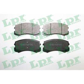 Brembo P54041 Front Disc Brake Pad Set of 4