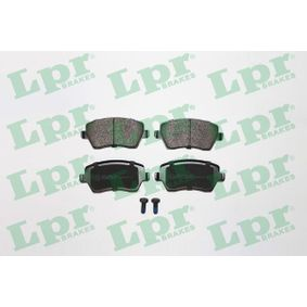 23973 LPR mit Schrauben Höhe: 52,5mm, Breite: 116,4mm, Dicke/Stärke: 17,3mm Bremsbelagsatz, Scheibenbremse 05P867 günstig kaufen