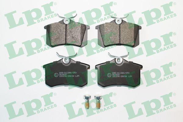 05P868 LPR mit Schrauben Höhe: 52,9mm, Breite: 87mm, Dicke/Stärke: 17mm Bremsbelagsatz, Scheibenbremse 05P868 günstig kaufen