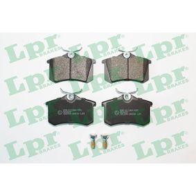 5SP868 LPR mit Schrauben Höhe: 52,9mm, Breite: 87mm, Dicke/Stärke: 17mm Bremsbelagsatz, Scheibenbremse 05P868 günstig kaufen
