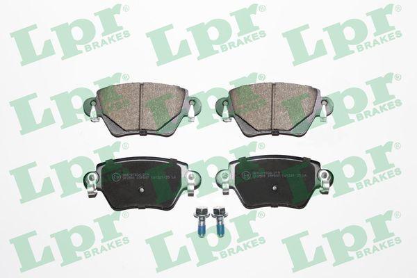05P897 LPR mit Schrauben Höhe: 52mm, Breite: 116mm, Dicke/Stärke: 16,8mm Bremsbelagsatz, Scheibenbremse 05P897 günstig kaufen