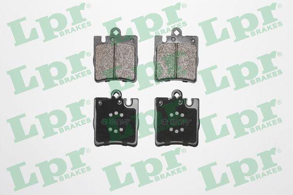 21898 LPR Höhe: 78mm, Breite: 63,8mm, Dicke/Stärke: 15,5mm Bremsbelagsatz, Scheibenbremse 05P957 günstig kaufen