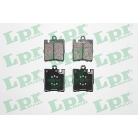 5SP957 LPR Höhe: 78mm, Breite: 63,8mm, Dicke/Stärke: 15,5mm Bremsbelagsatz, Scheibenbremse 05P957 günstig kaufen