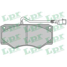 29138 LPR Höhe: 69mm, Breite: 149mm, Dicke/Stärke: 18mm Bremsbelagsatz, Scheibenbremse 05P962 günstig kaufen