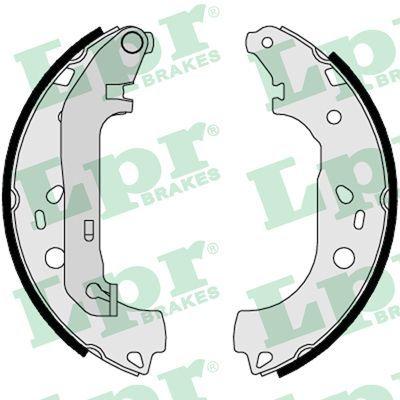 OE Original Bremsklötze für Trommelbremse 08550 LPR
