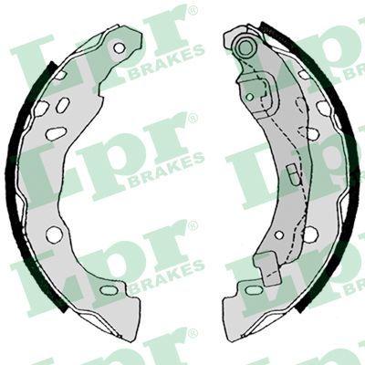 OE Original Bremsklötze für Trommelbremse 08630 LPR