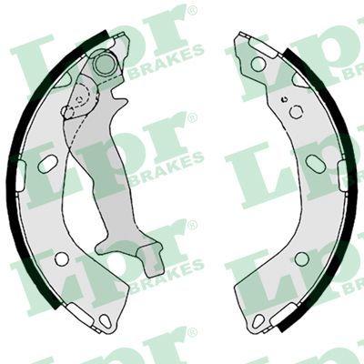 08760 LPR Ø: 180mm, mit Handbremshebel Breite: 32mm Bremsbackensatz 08760 günstig kaufen