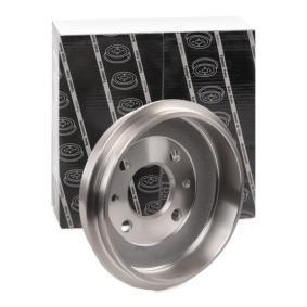 LPR Brakes 7D0043 Tamburo Freno