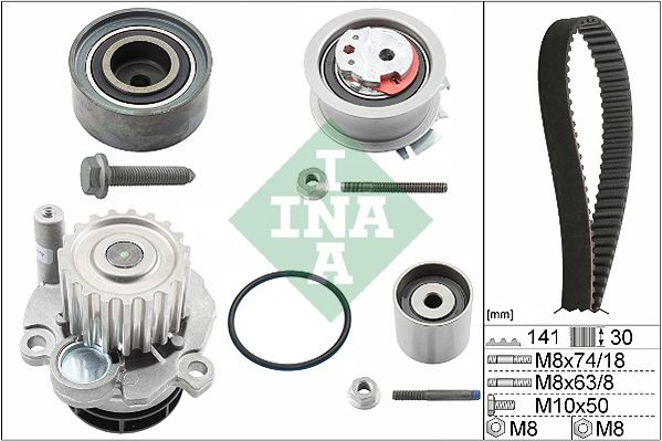 530 0405 30 Paskirstymo diržo komplektas INA - Pigus kokybiški produktai