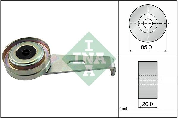 INA: Original Spannrolle Keilrippenriemen 531 0097 10 (Ø: 85,00mm, Breite: 26,00mm)