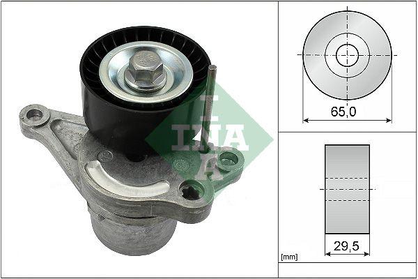 INA: Original Riemenspanner, Keilrippenriemen 534 0281 10 (Ø: 65,00mm, Breite: 29,50mm)