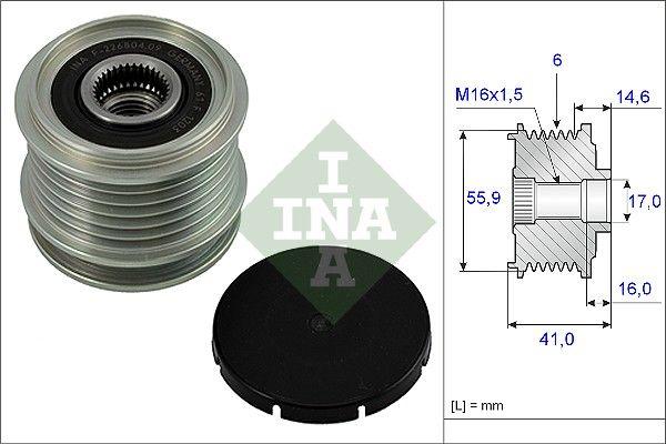 Generatorfreilauf INA 535 0010 10 Bewertungen