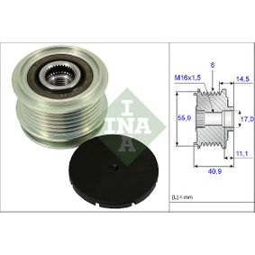 535 0012 10 Механизъм за свободен ход на генератор INA - опит