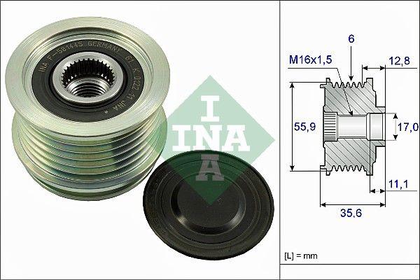 Generatorfreilauf INA 535 0041 10 Bewertungen