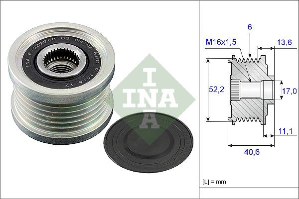 NISSAN ROGUE 2009 Reparatursätze - Original INA 535 0044 10