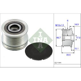 INA 535 0050 10 Dispositivo Ruota Libera Alternatore