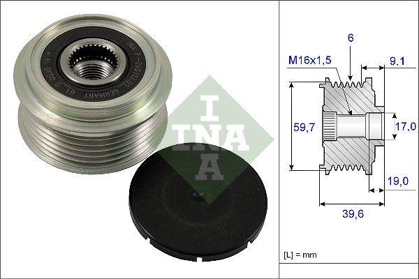 Механизъм за свободен ход на генератор 535 0065 10 купете - денонощно!