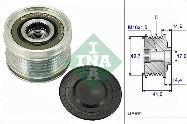 INA: Original Generatorfreilauf 535 0101 10 ()