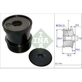 INA Generatorfreilauf für Generator 535 0115 10