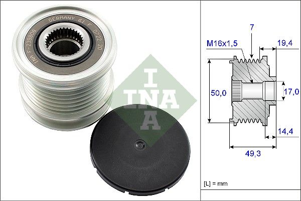 OE Original Lichtmaschine Einzelteile 535 0140 10 INA