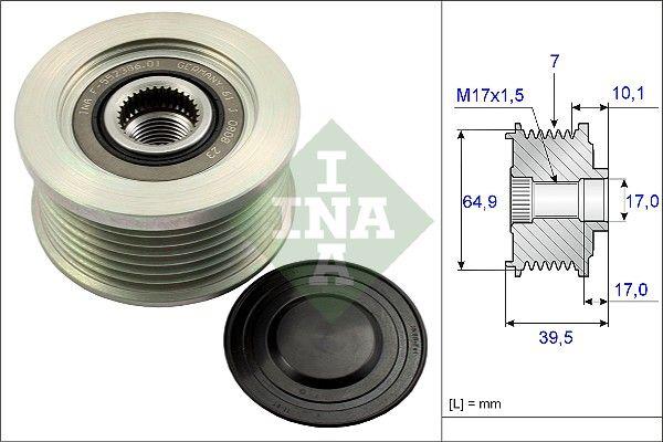 535 0177 10 Generatorfreilauf INA in Original Qualität