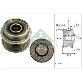 535 0180 10 INA Breite: 39,9mm, Spezialwerkzeug zur Montage notwendig Generatorfreilauf 535 0180 10 günstig kaufen