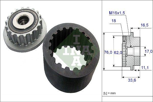 Flexible Kupplungsmuffe 535 0186 10 rund um die Uhr online kaufen