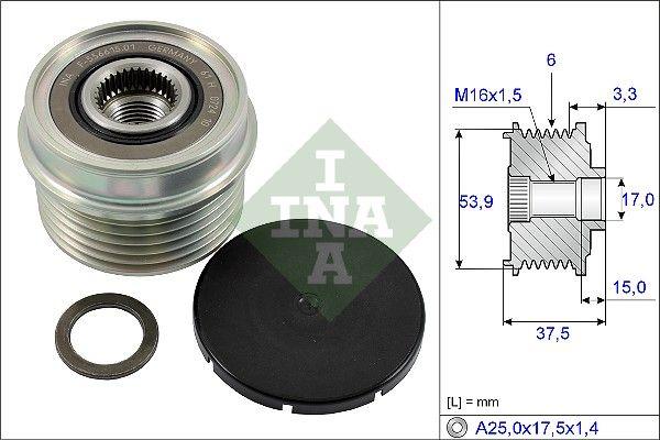 Buy cheap OEM parts: Alternator Freewheel Clutch INA 535 0223 10