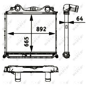 Ladeluftkühler NRF 30205 mit 31% Rabatt kaufen