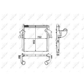 Ladeluftkühler NRF 30905 mit 28% Rabatt kaufen