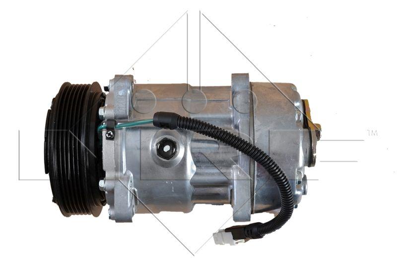 NRF: Original Kompressor 32040 (Riemenscheiben-Ø: 119mm, Anzahl der Rillen: 5)