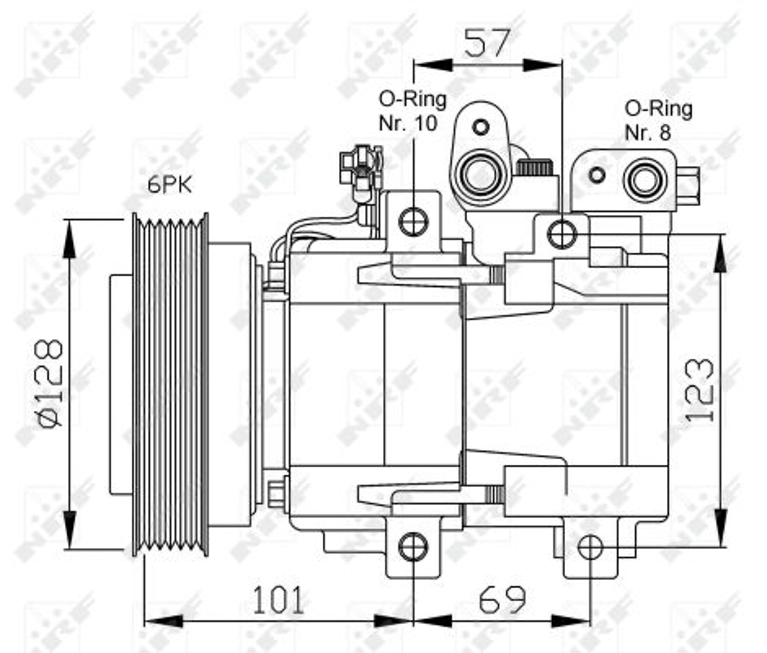 32204 Kältemittelkompressor NRF Erfahrung