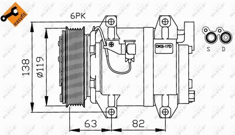 32211 Klimaanlage Kompressor NRF Erfahrung