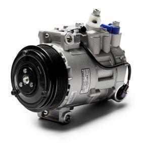 32214 NRF EASY FIT PAG 46, Kältemittel: R 134a, mit PAG-Kompressoröl Riemenscheiben-Ø: 110mm, Anzahl der Rillen: 6 Kompressor, Klimaanlage 32214 günstig kaufen