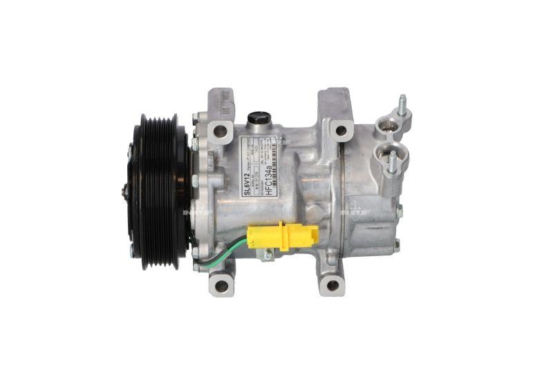 NRF: Original Kompressor Klimaanlage 32227 (Riemenscheiben-Ø: 119mm, Anzahl der Rillen: 6)