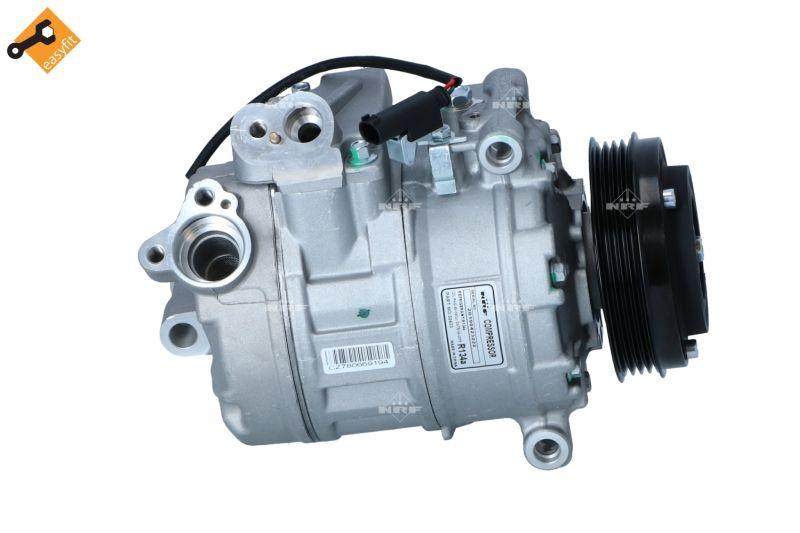 NRF: Original Kompressor 32433 (Riemenscheiben-Ø: 100mm, Anzahl der Rillen: 4)