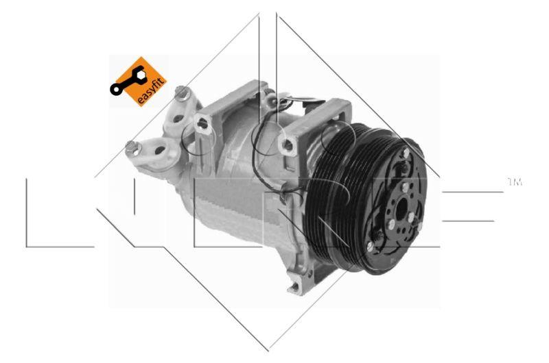 OE Original Kompressor 32492 NRF